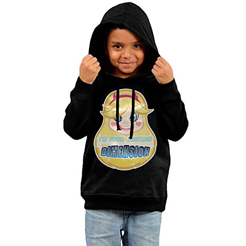 [KYY Kid's Star Vs The Forces Of Evil Unisex Hoodie Black Size 2 Toddler] (Crazy One Direction Fan Costume)