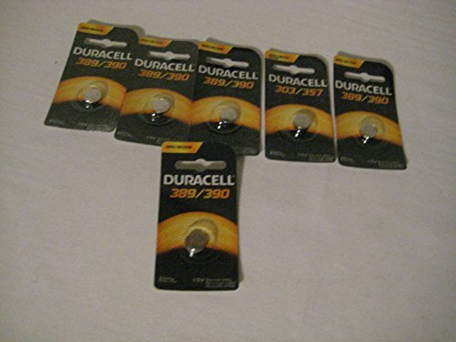 Duracell Silver Oxide Watch/ Calculator Battery (6 pack) ()