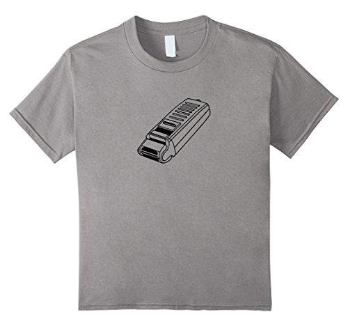Price comparison product image Kids Electric Shaver Relaxed Fit T-Shirt 10 Slate