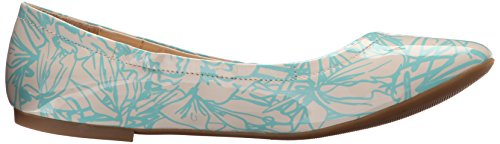 Ballet Flat blue White Girlsnite Off Synthetic Nine West xBqFSFO