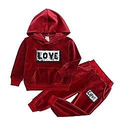 Warm Hooded Sweatshirt and Pants
