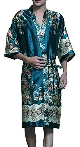 Khan Steamed Clothes Men's Pajamas Bathrobes Kimono Robes Men's Kimono Pajamas -