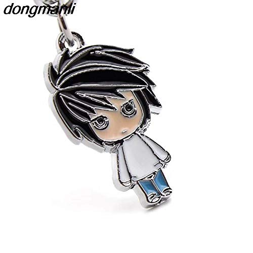 Amazon.com: Momoso_Store Death note keychain lovely yagami ...