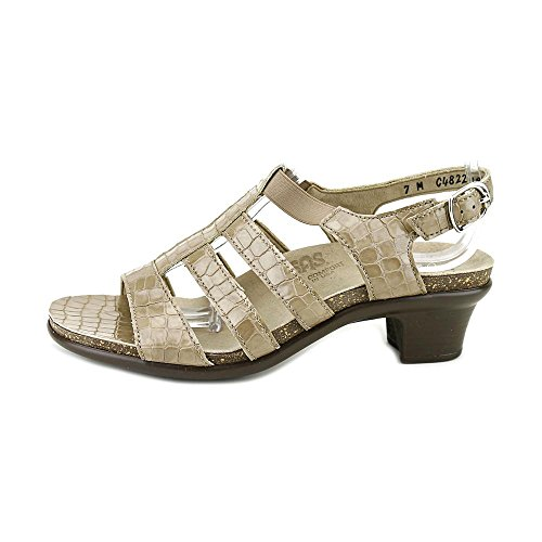 Sas Donne? S, Allegro Sandalo Taupe Croc