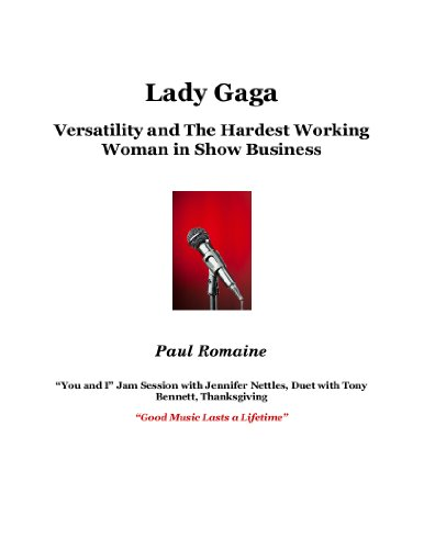Lady Gaga: Her Versatility and the Hardest Working Woman in Show - Versace Gaga