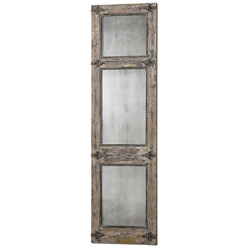 Uttermost Saragano Distressed Leaner Mirror