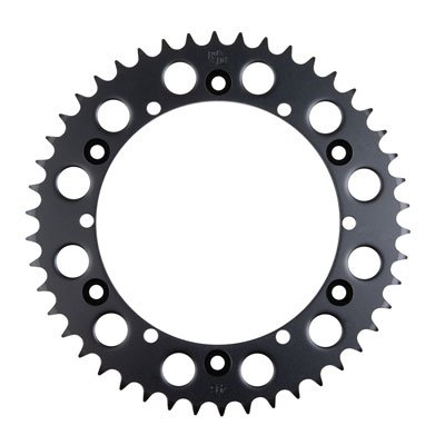 Primary Drive Rear Steel Sprocket 46 Tooth Black - Fits: Yamaha WARRIOR 350 1989-2004