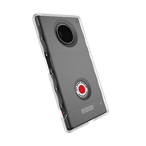 Speck Products Presidio Clear Cell Phone Case for Red Hydrogen - Clear/Clear Clear Red Phone Case