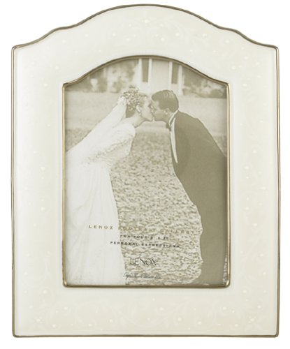 Lenox Wedding Promises Opal Innocence 5-by-7-Inch Frame