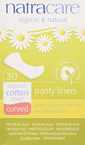 NATRACARE - Natural Curved Panty Liner - 30 Liners
