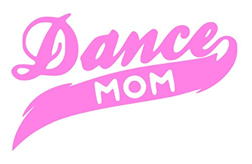 [Pnk Dance Mom Decal Vinyl Sticker|Cars Trucks Walls Laptop|PINK|7.5 X 4.5 In|URI271] (Viennese Waltz Costume)
