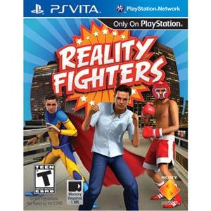 NEW Reality Fighter Vita (Videogame Software)