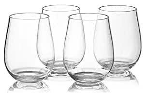 Siempre vino–juego de 6vasos de cristal copas de vino–juego de 4