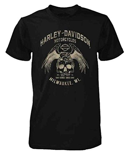 Harley Davidson Black Label Washed Sleeve