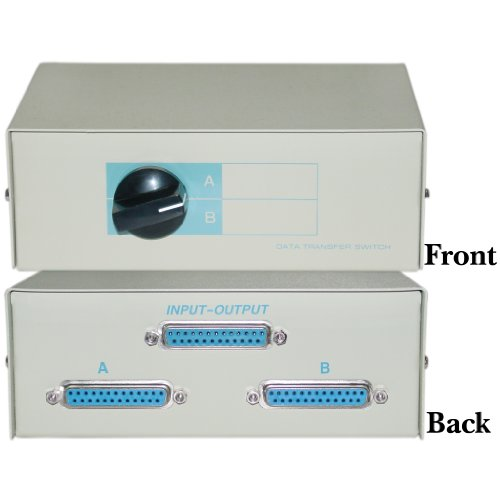 (CableWholesale AB 2 Way Switch Box, DB25 Female)