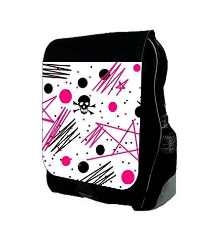 Emo Stars and Skulls TM School Backpack (Emo Star)