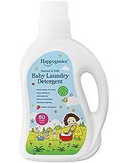 Happyganics Natural & Safe Baby Laundry Detergent Liquid, 1000 milliliters
