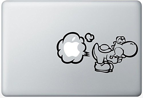 yoshi macbook pro decal - 9