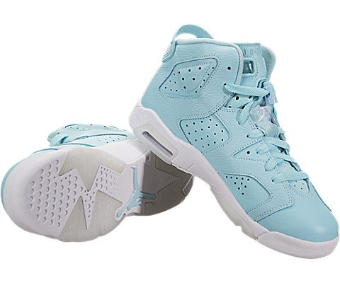 super popular b80df a6714 Jordan Kids  Nike Air 6 Retro Bg White Mango Green 384665-114 - KAUF.COM is  exciting!