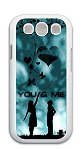 NBcase You and Me Lover hard PC case for galaxy s 3 I9300