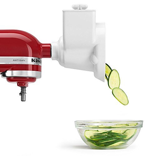 KitchenAid (Renewed) RVSA Slicer/Shredder Attachment for Stand Mixers