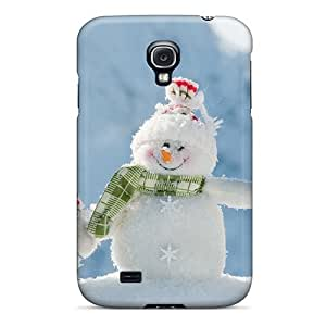 Rugged Skin Case Cover For Galaxy S4- Eco-friendly Packaging(cute Family)