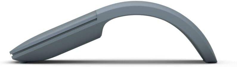 Microsoft – Souris Arc – souris Bluetooth pour PC, ordinateurs portables compatible Windows, Mac, Chrome OS (fine, légère, transportable, tactile) – Noir (ELG-00002) Bleu glacier