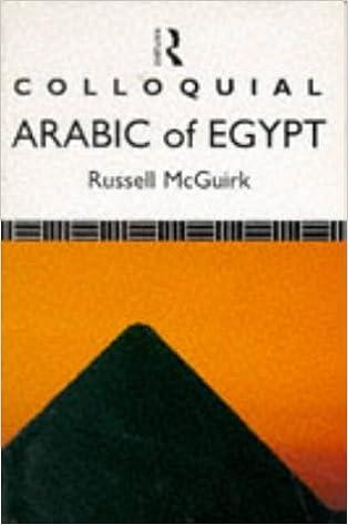 Colloquial Arabic of Egypt (Colloquial Series)