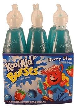 Kool-aid Bursts Berry Blue - Bottle 54/6.75oz