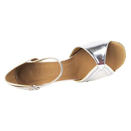 Dress 3710 White Wedding Ballroom Shoes Party Pu Pumps Comfort Dance Tan Women Heel Pigeon D Shoes Satin Party Gold Trim Evening Shoes qw8ZIFa