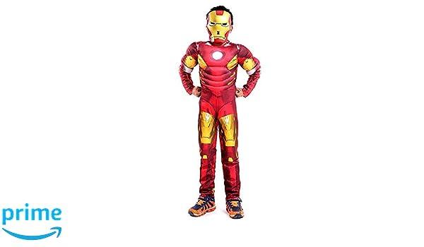 Lovelegis Talla M - 6-7 años - Traje y máscara de superhéroe ...