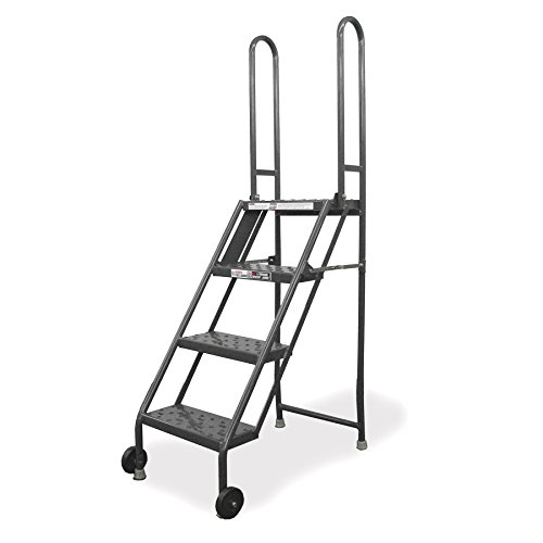 Tri-Arc KDMF104166 4-Step Mobile/Folding Steel Step (Mobile Work Stand)