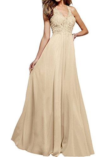 Ivydressing - Vestido - Estuche - para mujer champán
