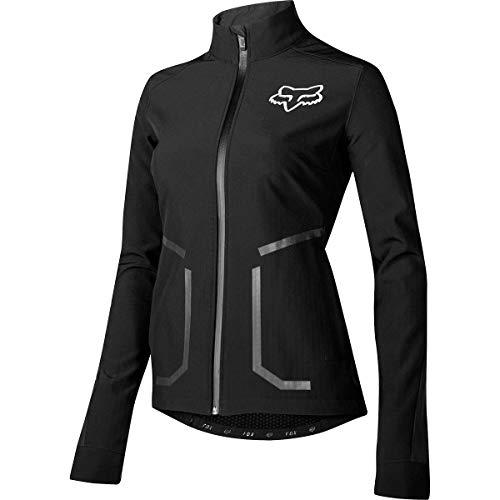 (Fox Racing Attack Fire Softshell Jacket - Women's Black, S)