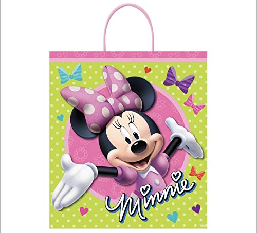 Disney Minnie Mouse Goodie Bags Party Favor Bags Gift Bags Birthday Bags, 12 pcs]()