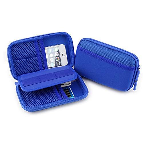 Diabetic Supply Travel Case Organizer Bag for Glucose Monitoring System, Blood Sugar Meter, Test Strips, Syringes…
