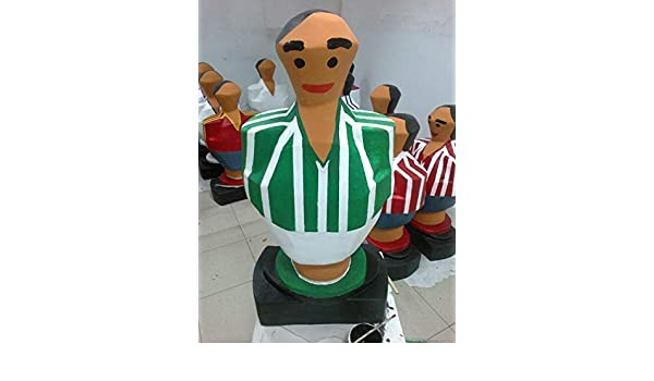 Real Betis Balompié. Escultura mas de un metro de altura muñeco futbolin gigante: Amazon.es: Handmade