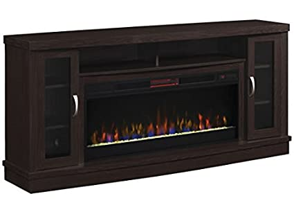 amazon com classic flame hutchinson infrared electric fireplace rh amazon com 60 espresso media electric fireplace 73 endzone espresso electric fireplace entertainment center
