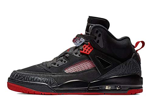 big sale d9690 b6d04 Nike Mens Air Jordan Spizike Basketball Shoes Black Gym Red-Anthracite  315371-006 Size 9