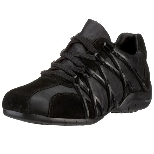 Rieker Mia L4411-00, Damen Sneaker, schwarz, (schwarz/schwarz 0)