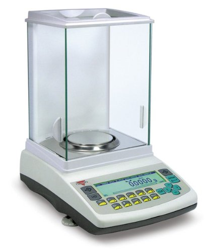 (Torbal AGN200 Analytical Scale, 200g x 0.0001g (.1mg Readability), Auto-Internal Calibration, USB, Large Graphical LCD Display, 12 Weighing Modes)