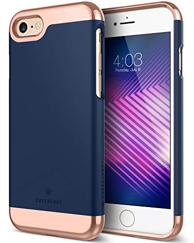 Caseology [Savoy Series] iPhone 6S / iPhone 6 Case - [Stylish Design] - Navy Blue