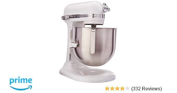KitchenAid (KSM8990WH) 8-Quart Stand Mixer with Bowl Lift (White)