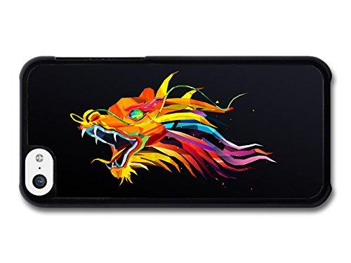 Color Dragon Illustration coque pour iPhone 5C