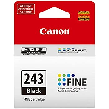 CanonInk 1287C001 Canon PG 243 Black Cartridge Compatible To MX492 MG3020 MG2920MG2924 IP2820 MG2525 And MG2420 Limited Edition