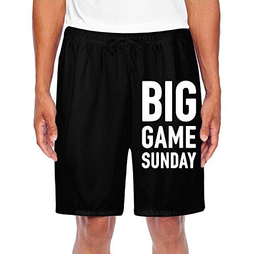 HNN Men's Big Game Sunday Shorts Sweatpants