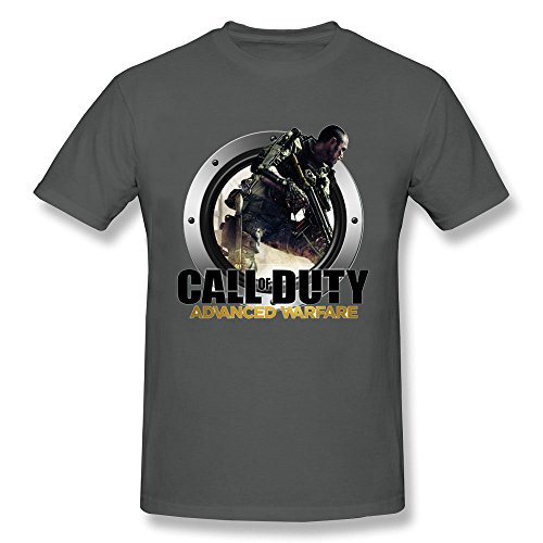 AzonLD Men's call of duty advanced warfare 1 Short Sleeve T-shirt (Call Of Duty Advanced Warfare App)