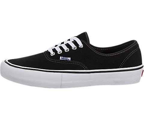 Vans Men's Authentic Pro Black/White Skate Shoe 10 Men - Authentic Vans California