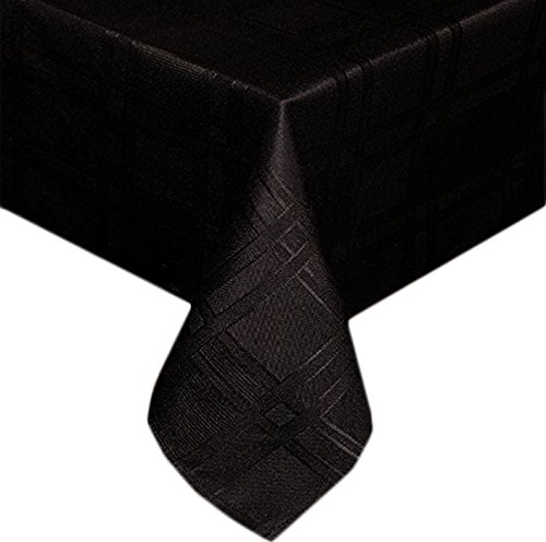 Morocco Flannel Backed Vinyl Tablecloth Indoor Outdoor 60