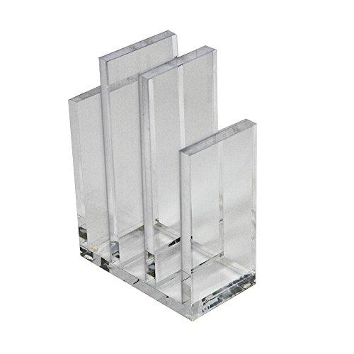 Azar Displays 255035 - Clasificador de archivos acrílicos y soporte de papel para libros (1 unidad)